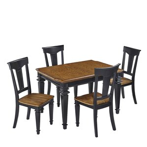 Collette 5 Piece Dining Set by August Grove