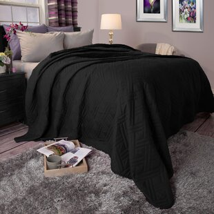 Black Quilts & Coverlets You'll Love | Wayfair : black quilted coverlet - Adamdwight.com
