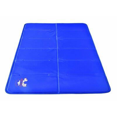 "Pet Dog Mat Pad W/ Self Cooling Arf Pets Size: 27"" W X 43"" D X 2"" H"
