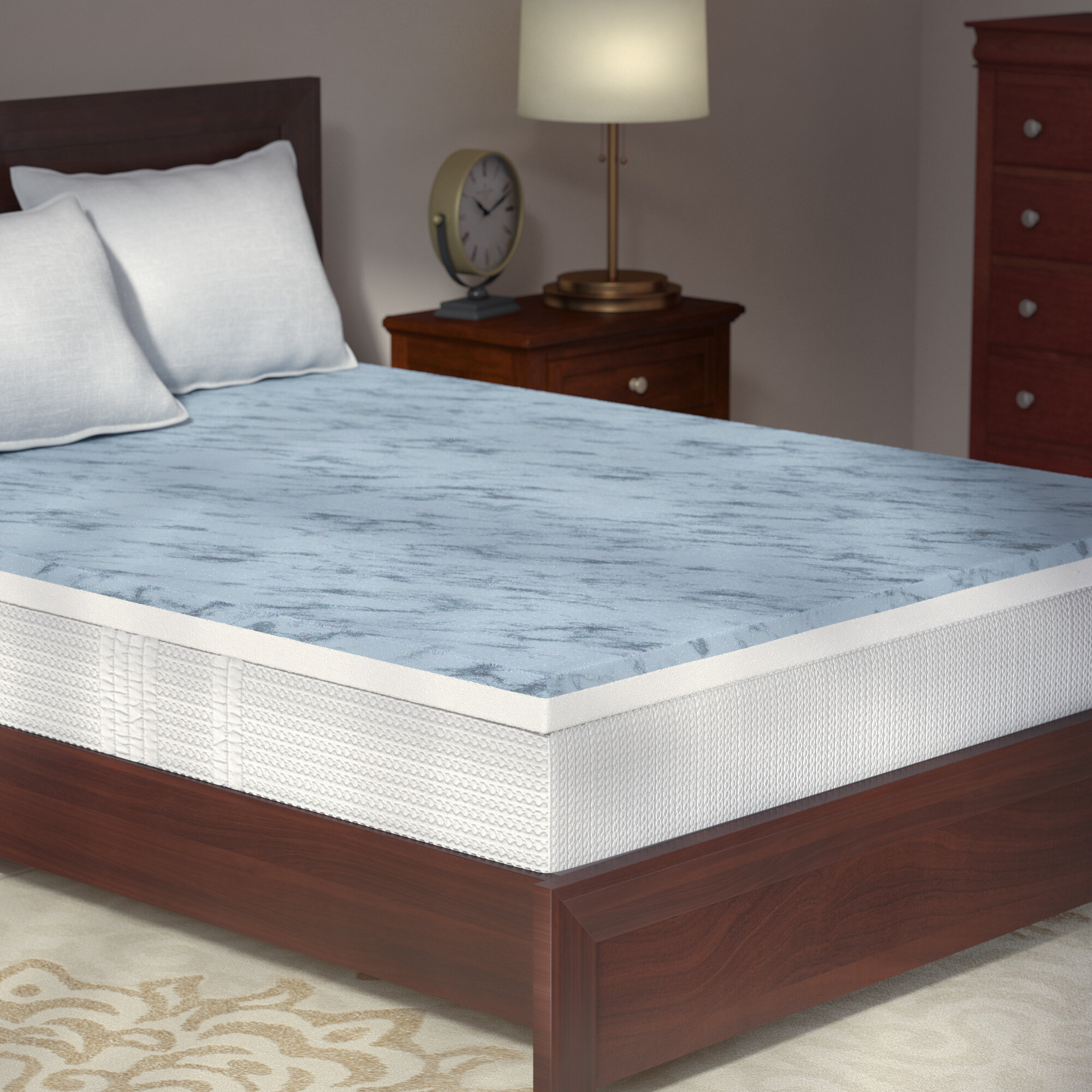 topper organic mattress mymerinotopperdetail wool product queen bed