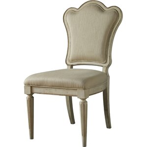 Daniella Upholstered Back Side Chair (Set of 2) by Lark Manor