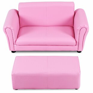 Alethea Kids Sofa And Ottoman