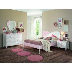 pink bedroom sets. Rosenberger Kids Panel 4 Piece Bedroom Set Pink  Sets You ll Love Wayfair