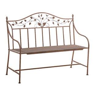 Shispare Iron Garden Bench by Home & Haus