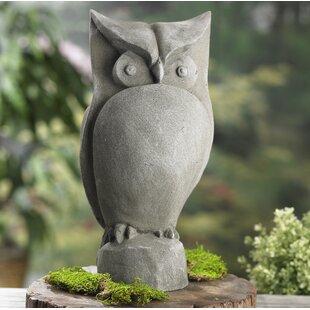 Tannenbaum Garden Owl Statue