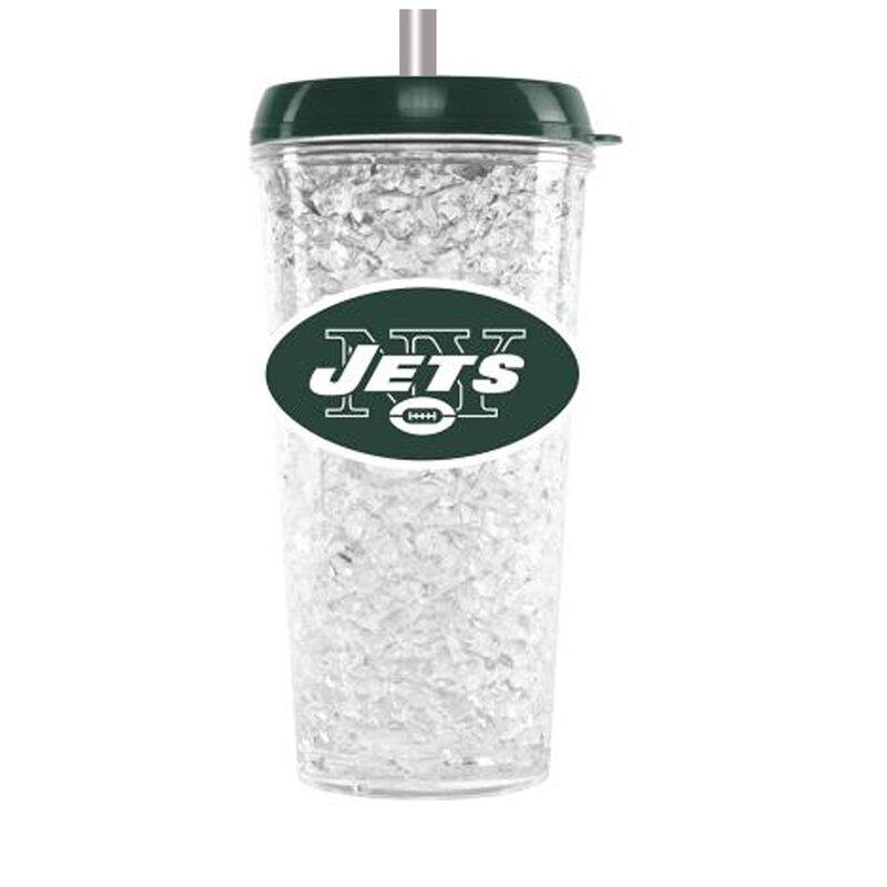 NFL 16 oz. Plastic Travel Tumbler