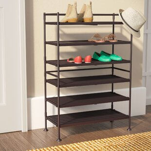 6 Tier 18 Pair Shoe Rack