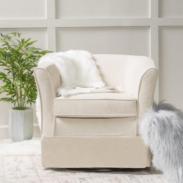 Sevan Swivel Barrel Chair & Reviews | Birch Lane