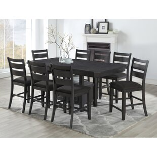 Offutt 9 Piece Pub Table Set