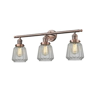 Copper bathroom vanity lighting youll love wayfair save to idea board aloadofball Choice Image