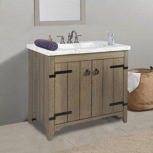 Rustic Bathroom Vanities You'll   Wayfair.ca on rustic cabin bathroom design, rustic contemporary bathroom design, rustic colonial bathroom design, rustic country bathroom design,