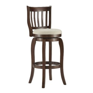 Morgan 29  Swivel Bar Stool  sc 1 st  Wayfair & Beige u0026 Tan Bar Stools Youu0027ll Love | Wayfair islam-shia.org