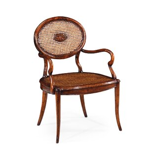 French Caned Solid Wood Dining Chair (Set of 2)