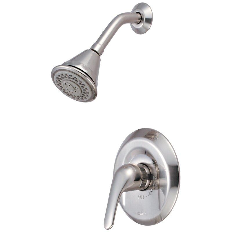 Pioneer Legacy Single Lever Handle Shower Trim Diverter Shower
