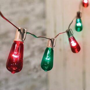 10 Edison Lantern String Lights