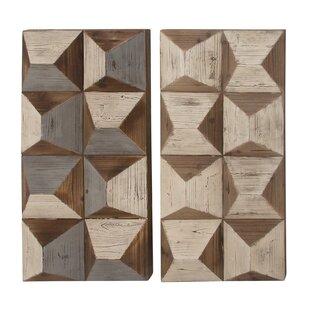 Modern Contemporary Wood Panel Wall Decor Allmodern
