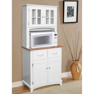 Kitchen Microwave Hutch | Wayfair