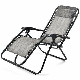 Deneuve Patio Folding Sun Lounger by Lynton Garden
