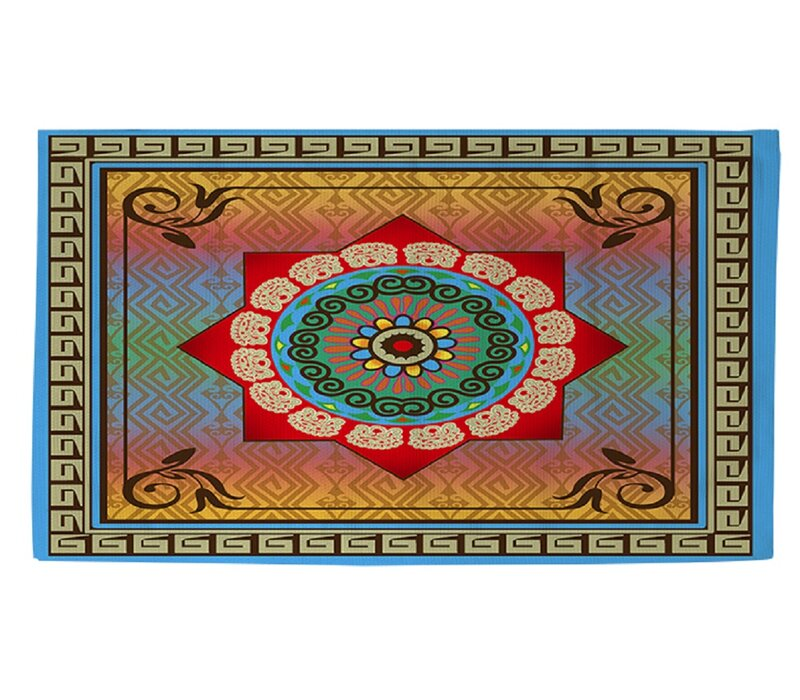 Manual Woodworkers & Weavers Mexican Summer Area Rug
