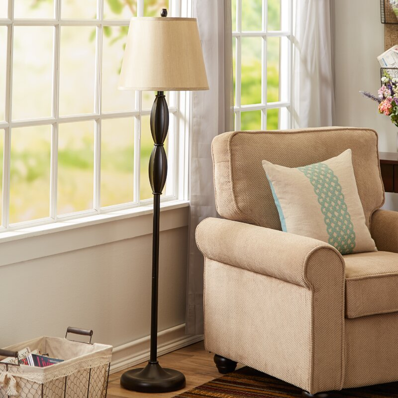 Andover Mills Petrey 3 Piece Table And Floor Lamp Set Reviews