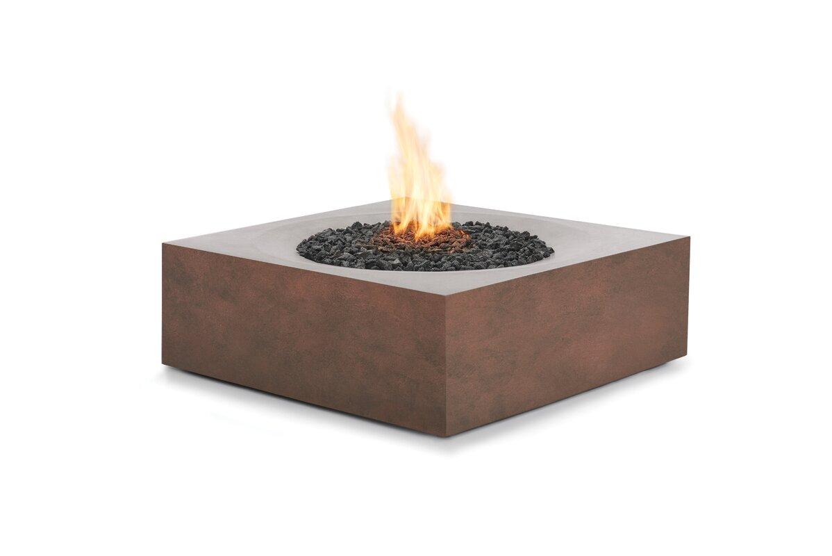 bjfs solstice concrete gas fire pit table reviews. Black Bedroom Furniture Sets. Home Design Ideas
