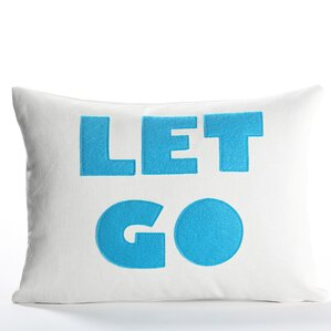 Zen Master Let Go Throw Pillow