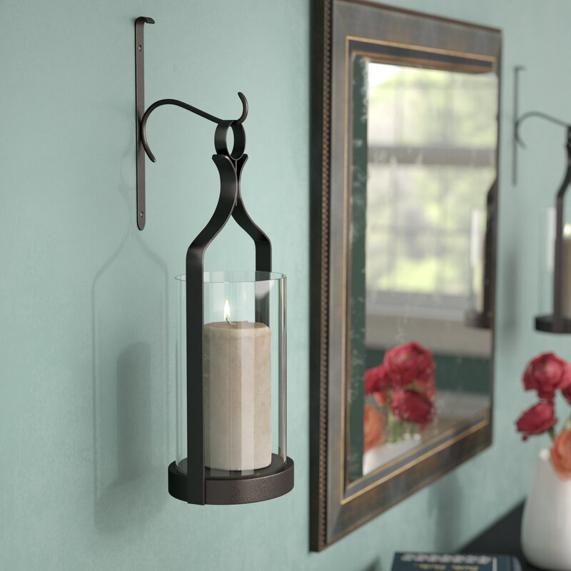 Captivating Glass Wall Sconce