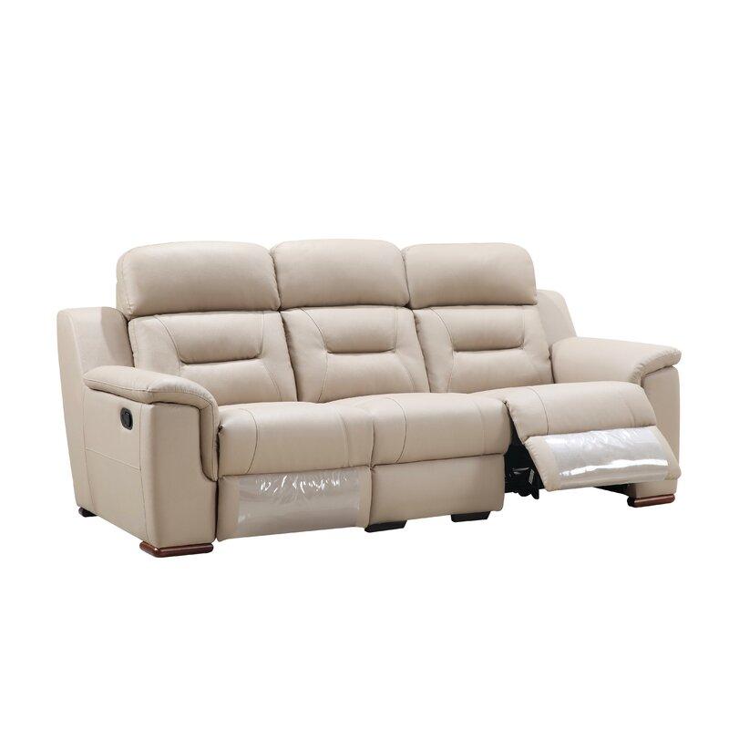 Latitude Run Kreger Air Reclining Sofa   Wayfair