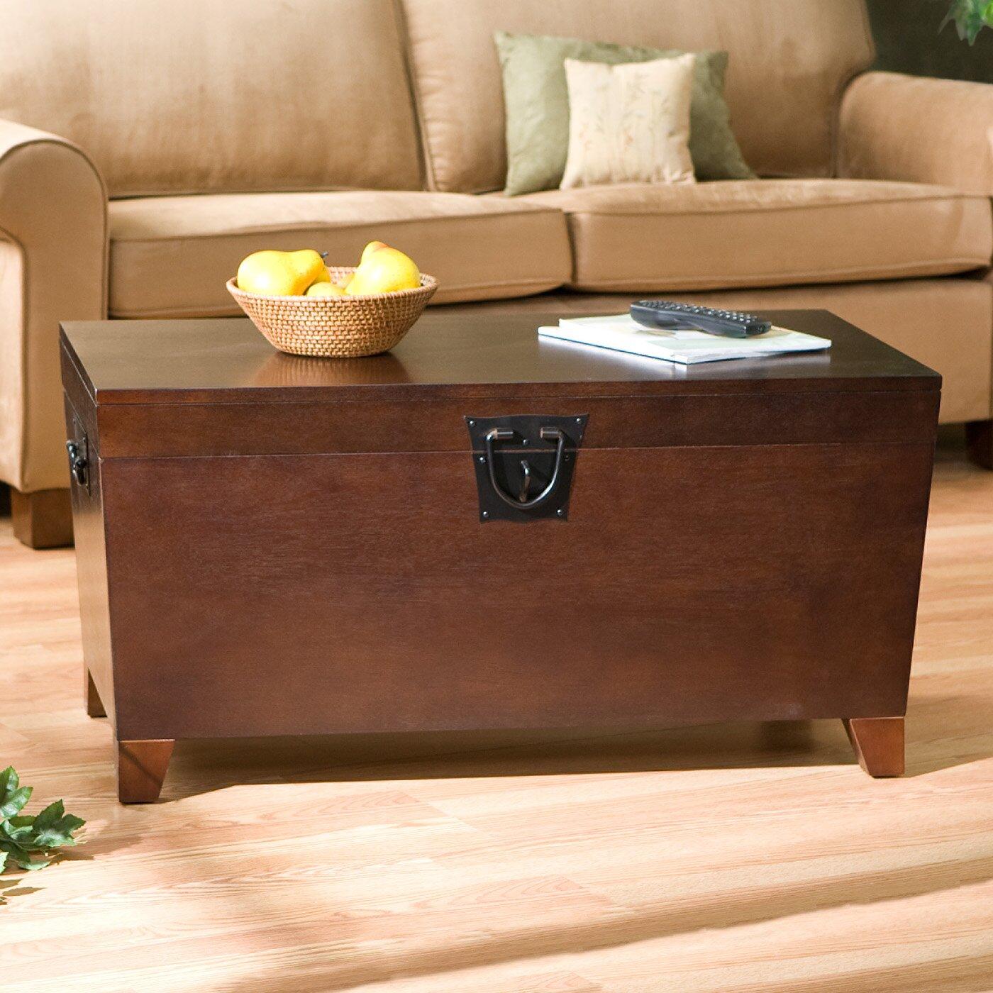 Bischoptree Storage Trunk Coffee Table - Charlton Home Bischoptree Storage Trunk Coffee Table & Reviews
