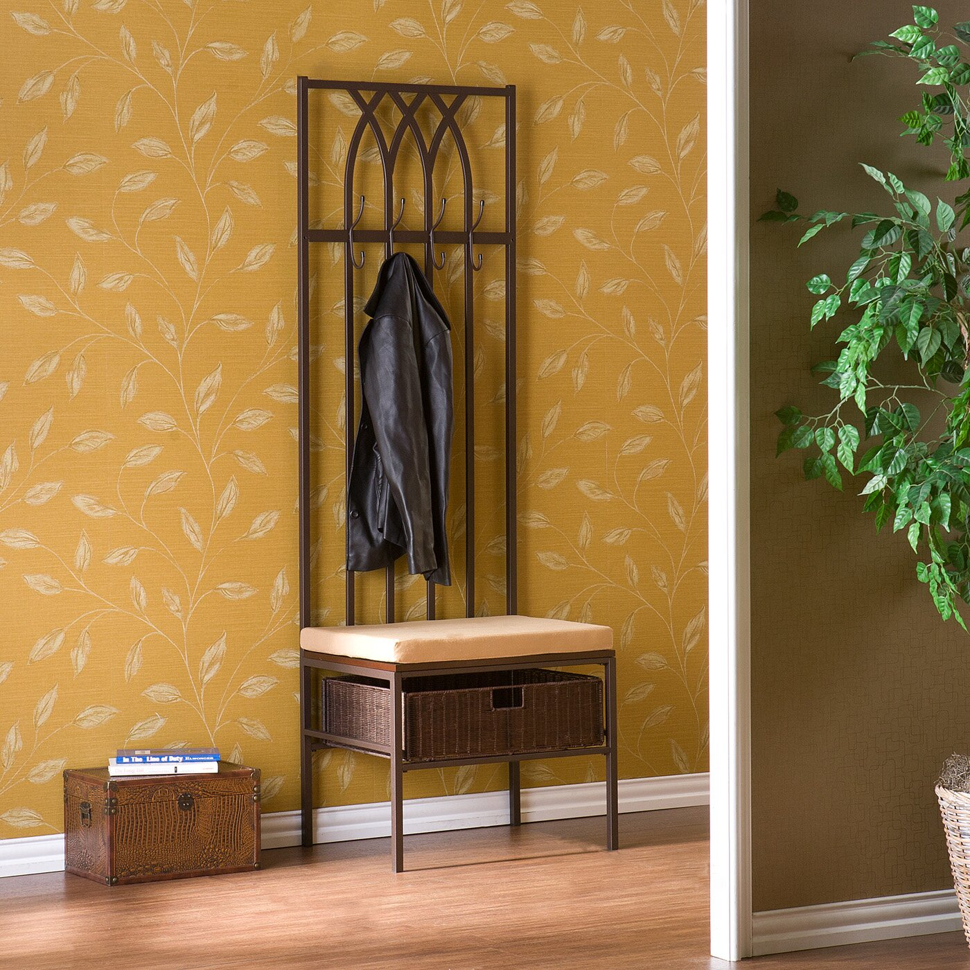 Foyer And Entryways Reviews : Wildon home goldwood entryway hall tree reviews wayfair