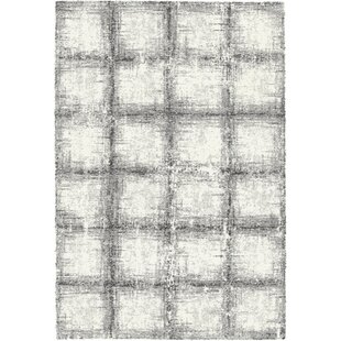 Great Price Lucina Black / White Area Rug By Wrought Studio