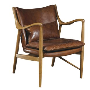 cf0bf25a78491 Leather Chairs You ll Love