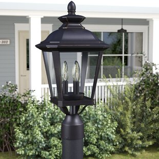 Lamp post lights youll love wayfair sunbury 3 light outdoor lantern head mozeypictures Gallery
