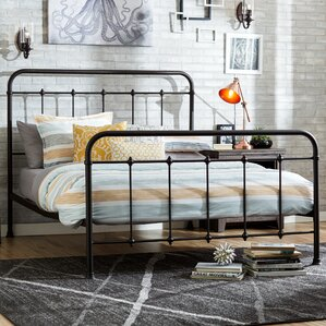 Drake Queen Panel Bed by Mercury Row