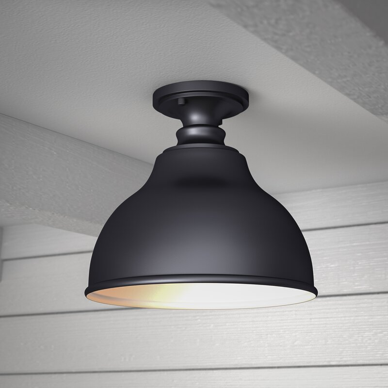 Semi Flush Farmhouse Light