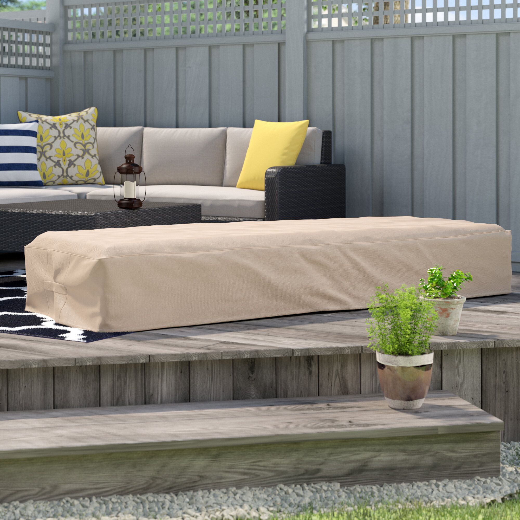 Freeport Park Outdoor Waterproof Chaise Lounge Cover Reviews Wayfair