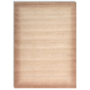Marguerite Handwoven Wool Light Brown Rug by Norden Home