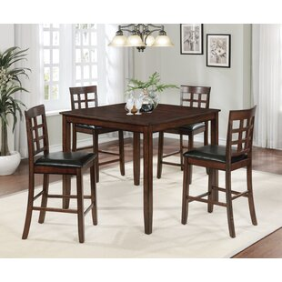 Slagen 5 Piece Pub Table Set
