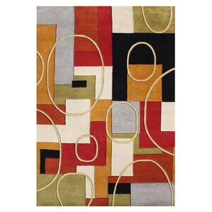 Exceptional Alliyah Hand Woven Multi Color Area Rug