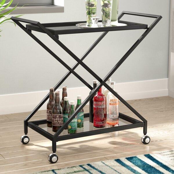 Ivy Bronx Burke Bar Cart Amp Reviews Wayfair