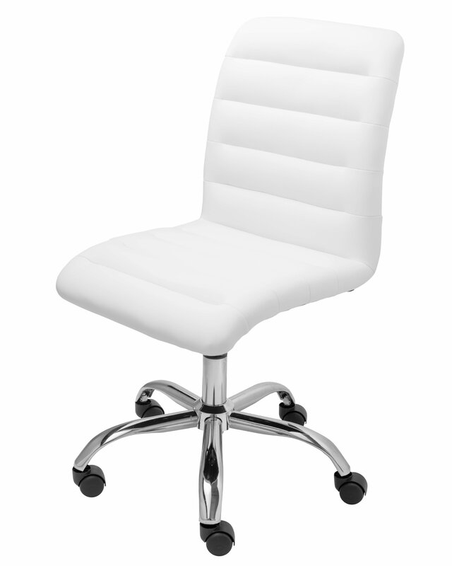 Wrought Studio Parkland Mid-Back Armless Desk Chair & Reviews ...