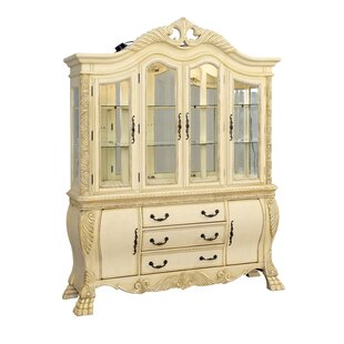 Dolores Lighted China Cabinet