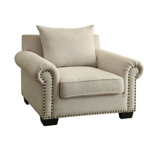 Constantine Nailhead Trim Armchair by Darby Home Co