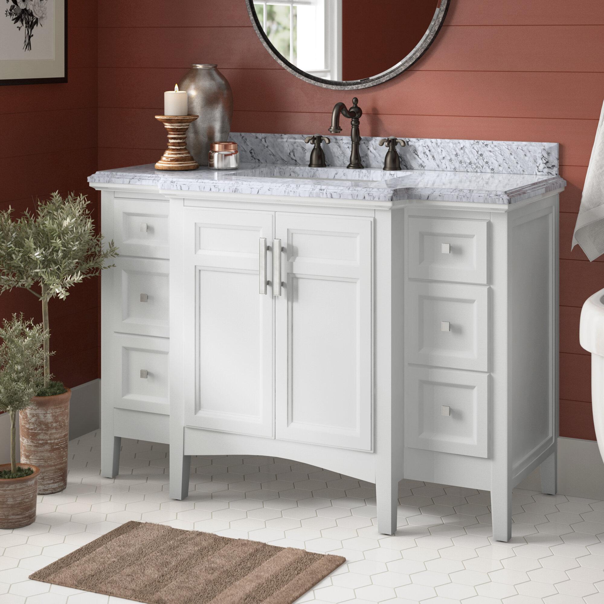 Birch Lane Heritage Renava 48 Single Bathroom Vanity Set Reviews