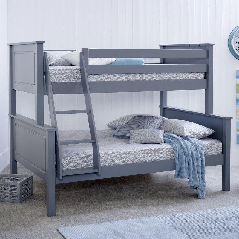 Viv Rae Bilton Triple Sleeper Bunk Bed With Mattress Reviews