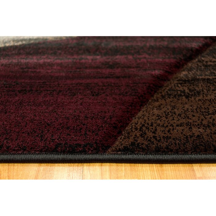 large stripes carpet black red shag shaggy copy area grey rugs modern products of rug b design soft maroon super back