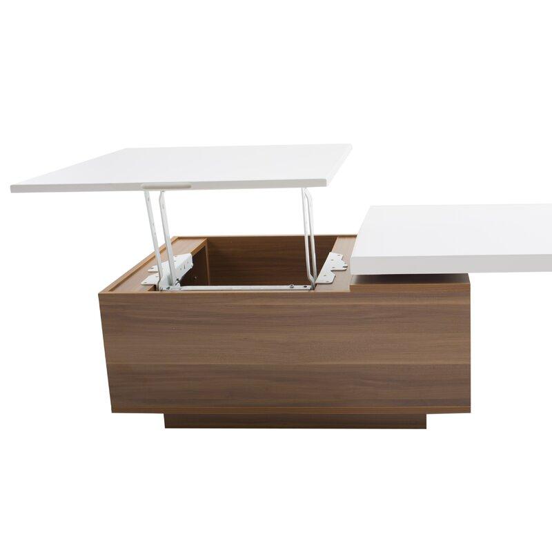 Matrix Lift Top Coffee Table Amp Reviews Wayfair