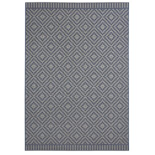 Breeze Flatweave Blue/Beige Rug by freundin Home Collection