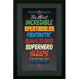 Superhero 2 Framed Wall Art