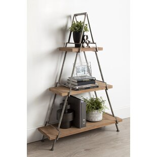 Kelly Free Standing 3 Tiered Standard Bookcase